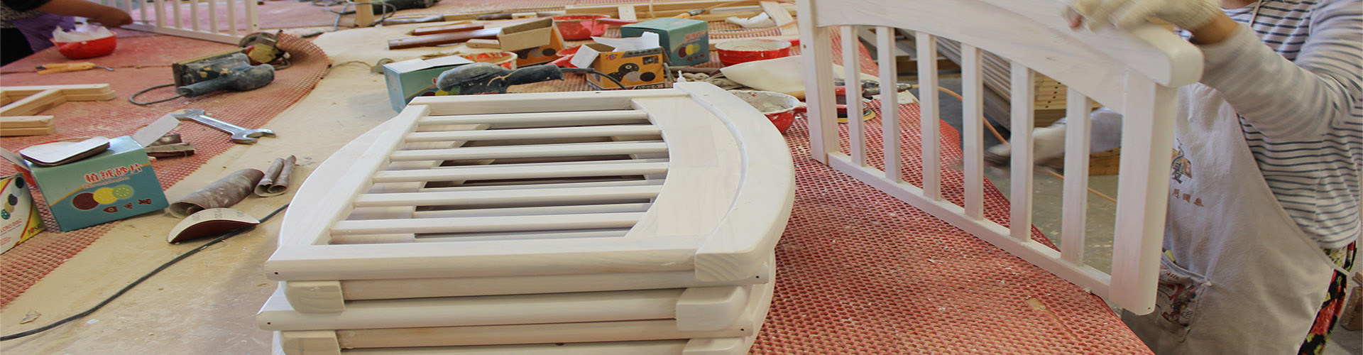 producing baby cot