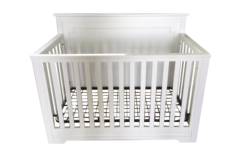 WOODED BABY CRIB 161